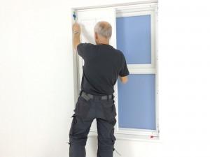 Fitting shutter panels