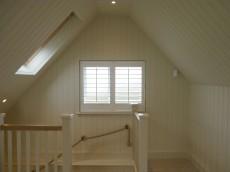 Loft window shutters