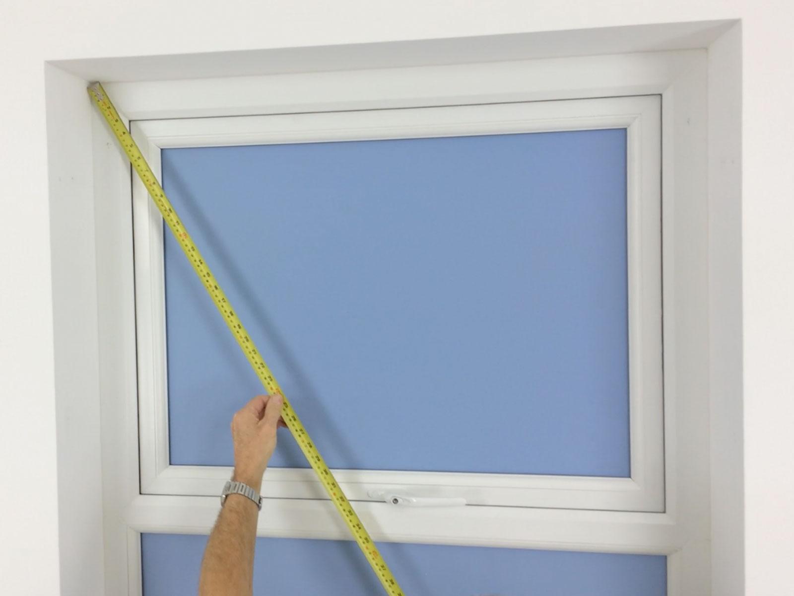 Measuring Window Shutters