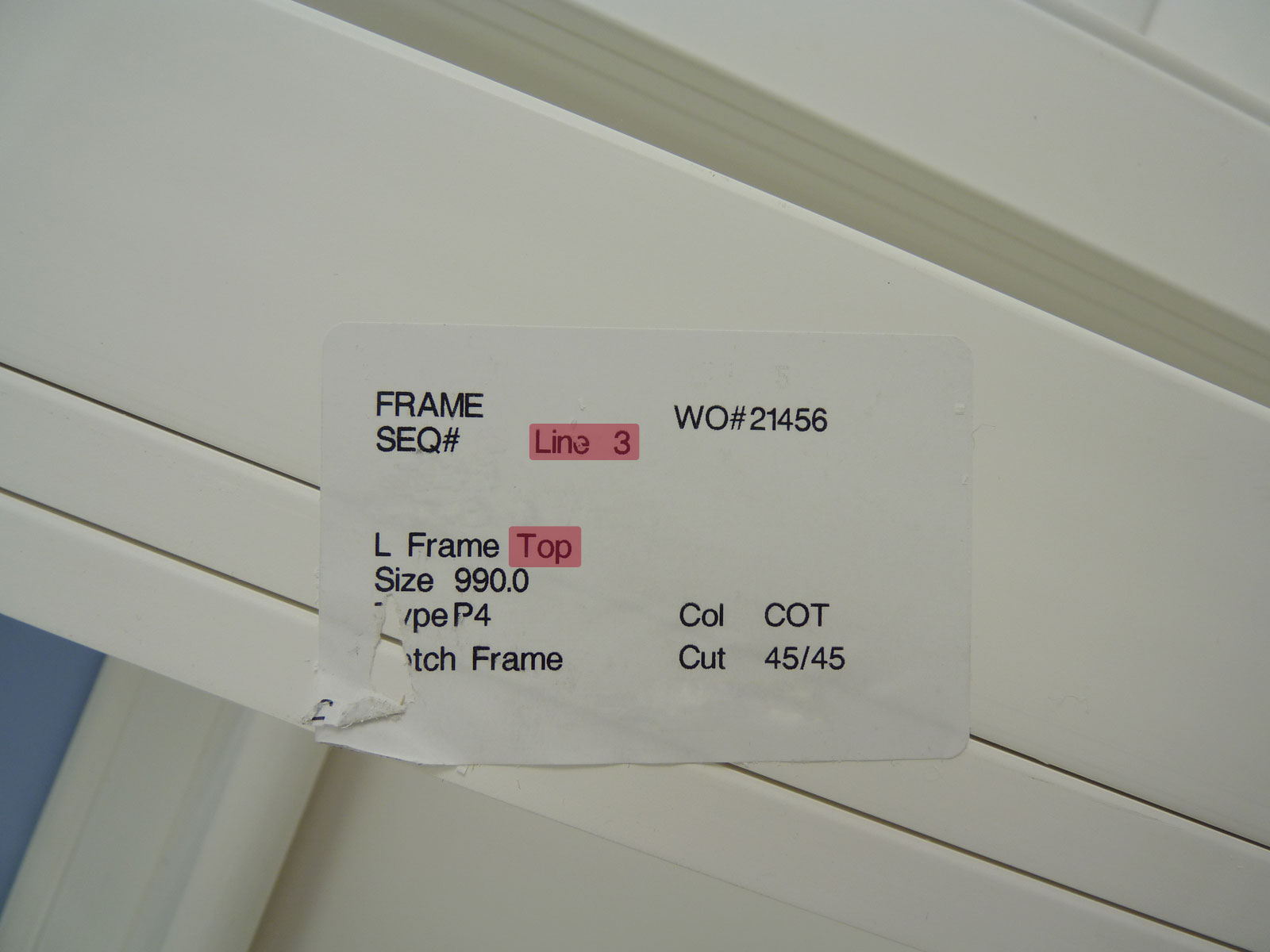 Frame-Label